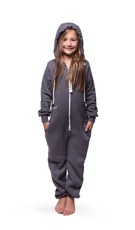 Jumpster Jumpsuit Exqusite-Gray Kinder