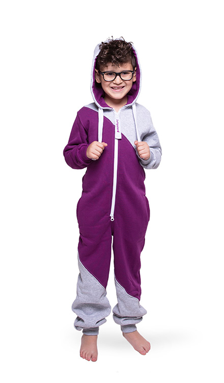 Jumpster Jumpsuit Mashup-Purple Kinder