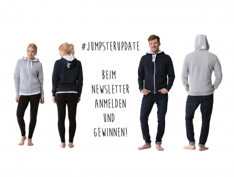 #JumpsterUpdate – Newsletter abonnieren und gewinnen!